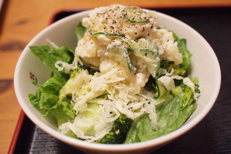 豆乳マヨネーズのポテトサラダ