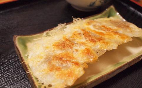 ベジタリアン のための焼き餃子