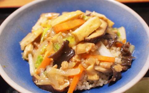ベジタブルな中華丼